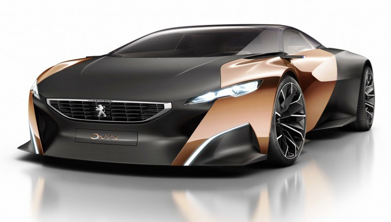 Concept Flashback - 2012 Peugeot ONYX Is Mixed-Media Hypercar Delight 22