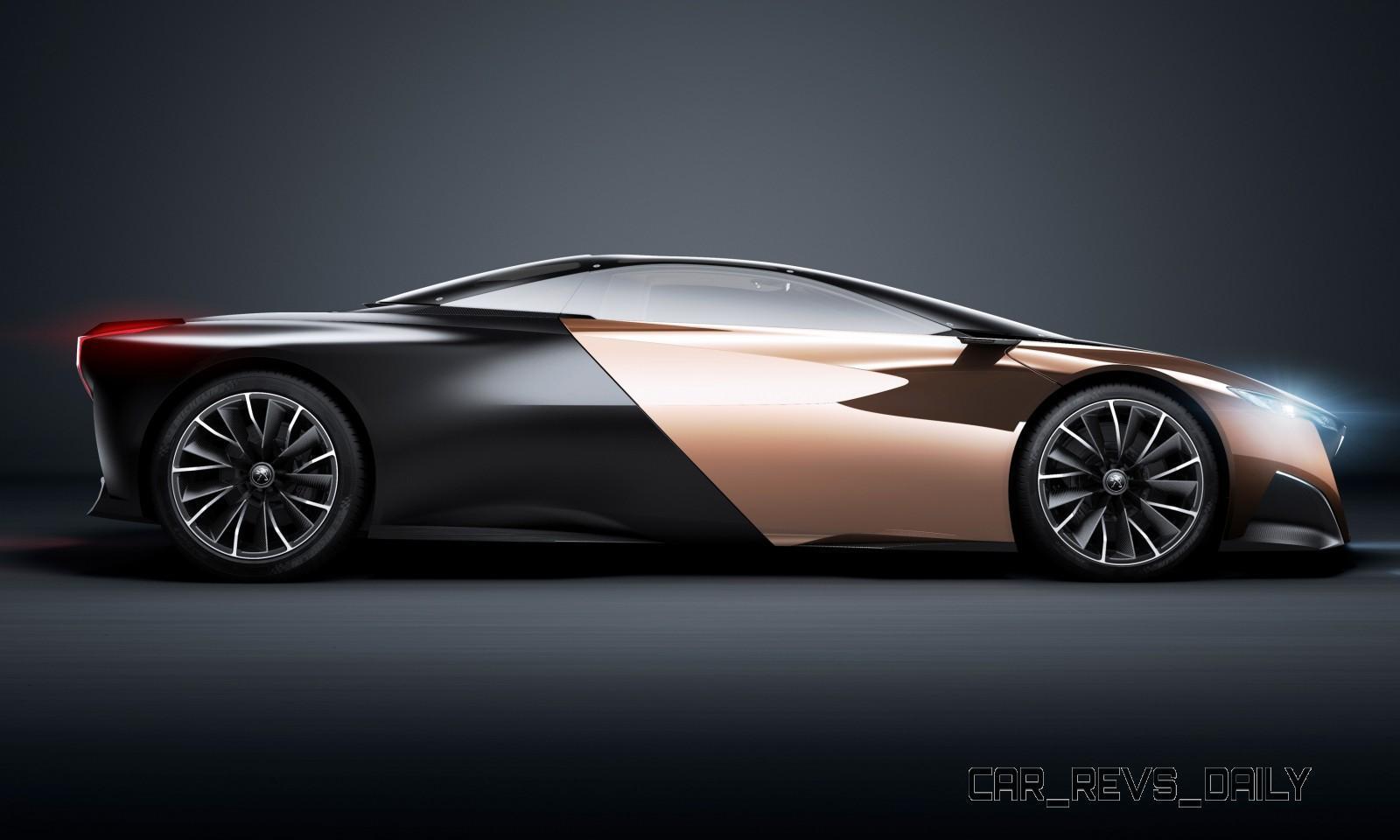 Concept Flashback - 2012 Peugeot ONYX Is Mixed-Media Hypercar Delight 25