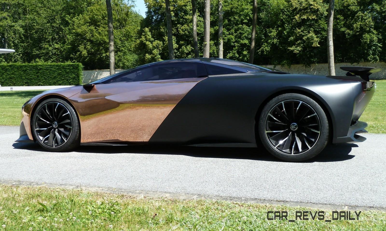 Concept Flashback - 2012 Peugeot ONYX Is Mixed-Media Hypercar Delight 28