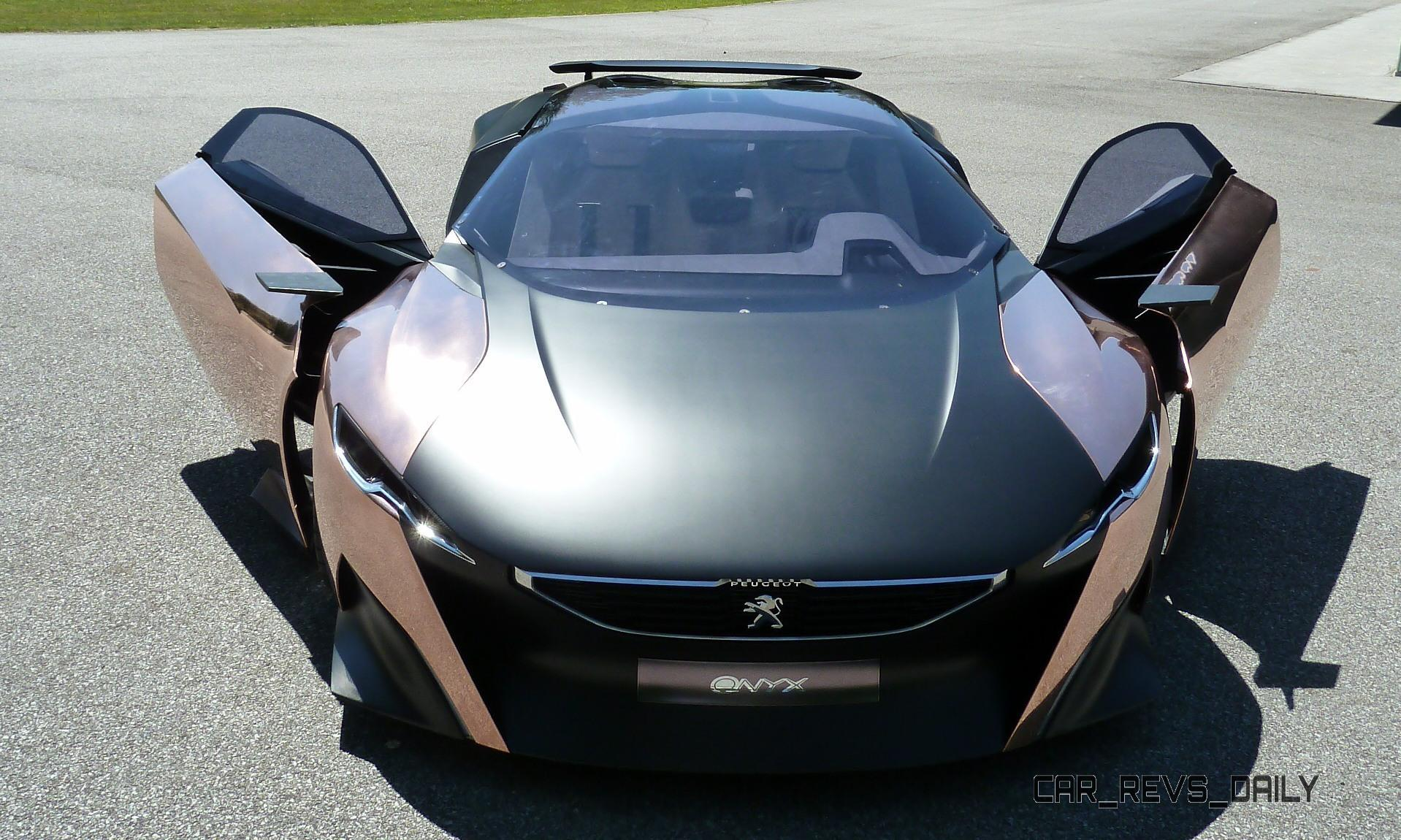 Concept Flashback - 2012 Peugeot ONYX Is Mixed-Media Hypercar Delight 29