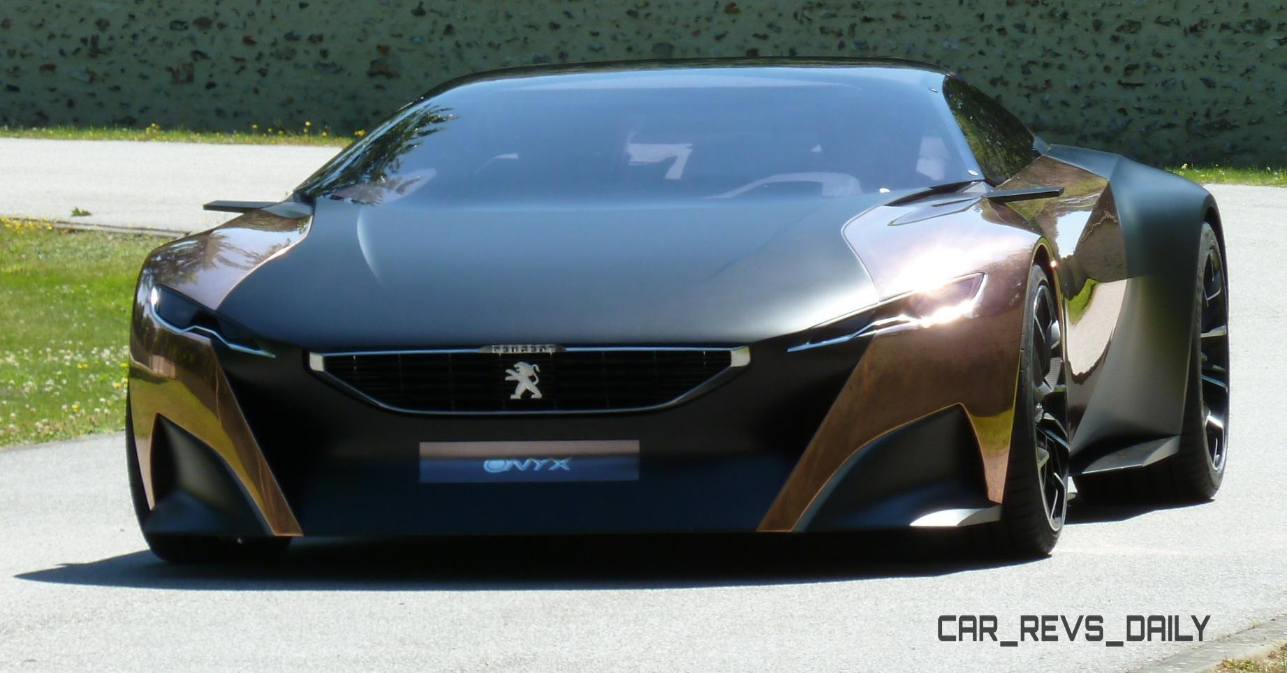 Concept Flashback - 2012 Peugeot ONYX Is Mixed-Media Hypercar Delight 3