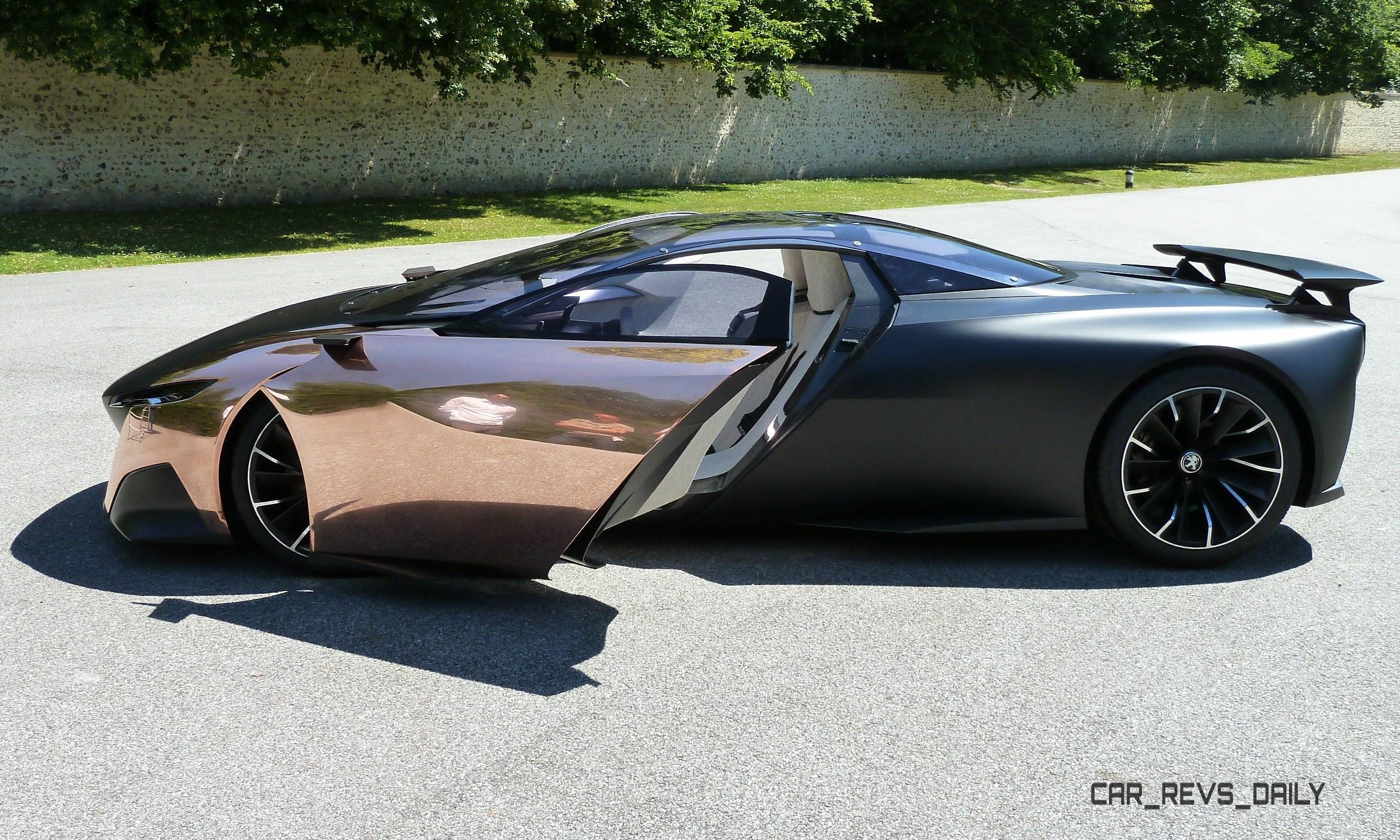 Concept Flashback Peugeot Onyx Is Mixed Media Hypercar