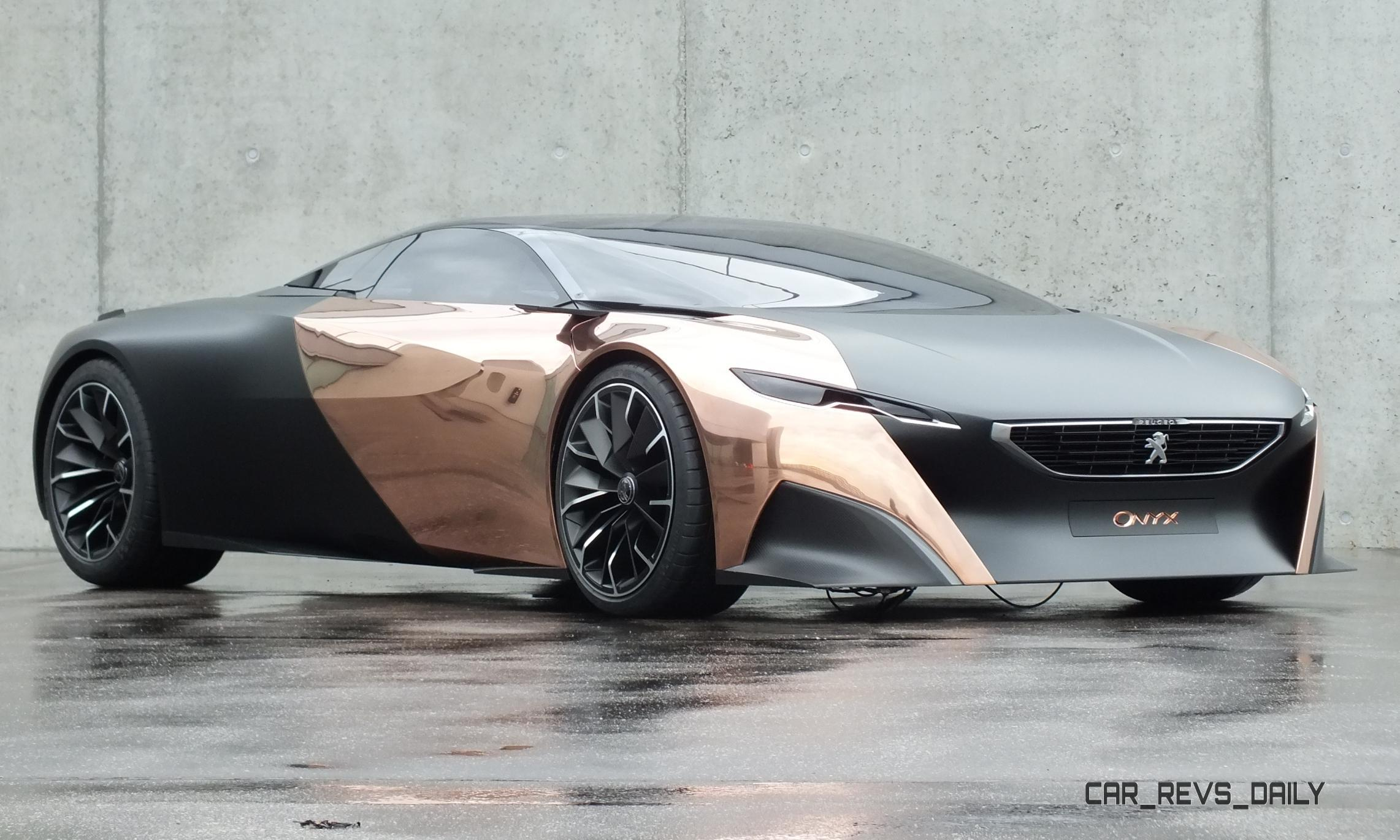 Concept Flashback 2018 Peugeot Onyx Is Mixed Media