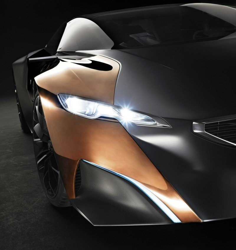 Concept Flashback - 2012 Peugeot ONYX Is Mixed-Media Hypercar Delight 6