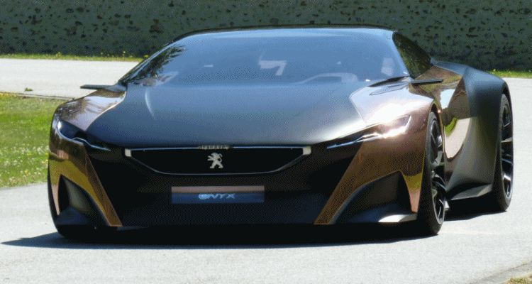 Concept Flashback - 2012 Peugeot ONYX Is Mixed-Media Hypercar Delight GIF header