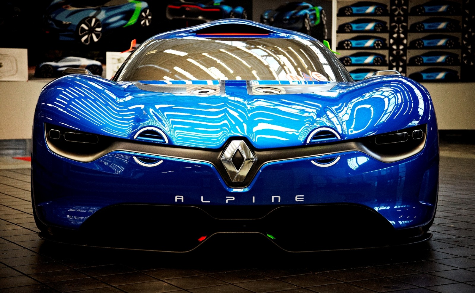 Concept Flashback - 2012 Renault Alpine A110-50 A Blend of M64 and A110 Berlinette 28