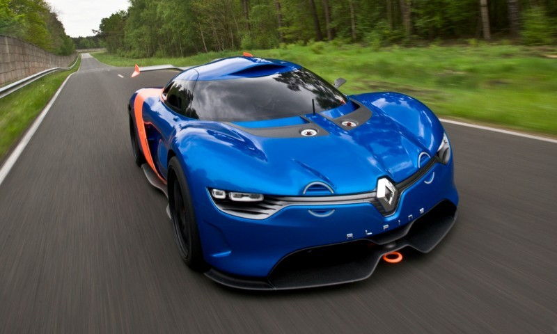 Concept Flashback - 2012 Renault Alpine A110-50 A Blend of M64 and A110 Berlinette 32