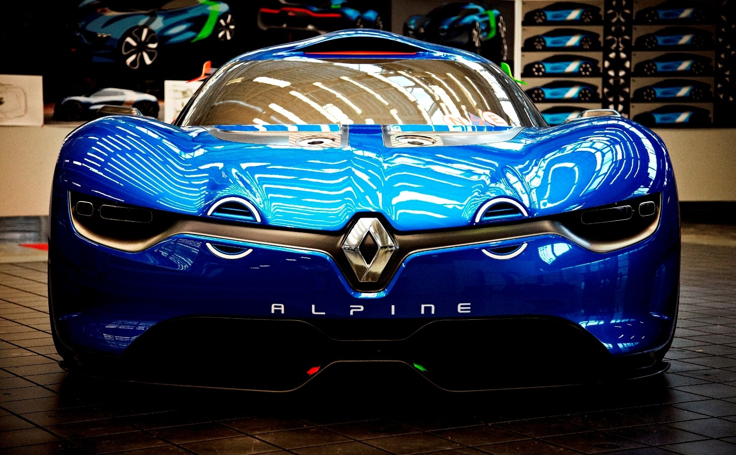 Concept Flashback - 2012 Renault Alpine A110-50 A Blend of M64 and A110 Berlinette 37