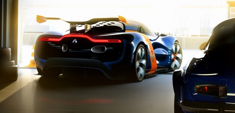 Concept Flashback - 2012 Renault Alpine A110-50 A Blend of M64 and A110 Berlinette 41