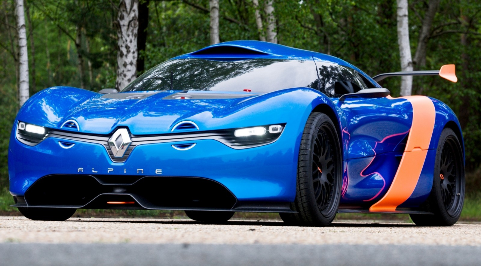 Concept Flashback - 2012 Renault Alpine A110-50 A Blend of M64 and A110 Berlinette 50