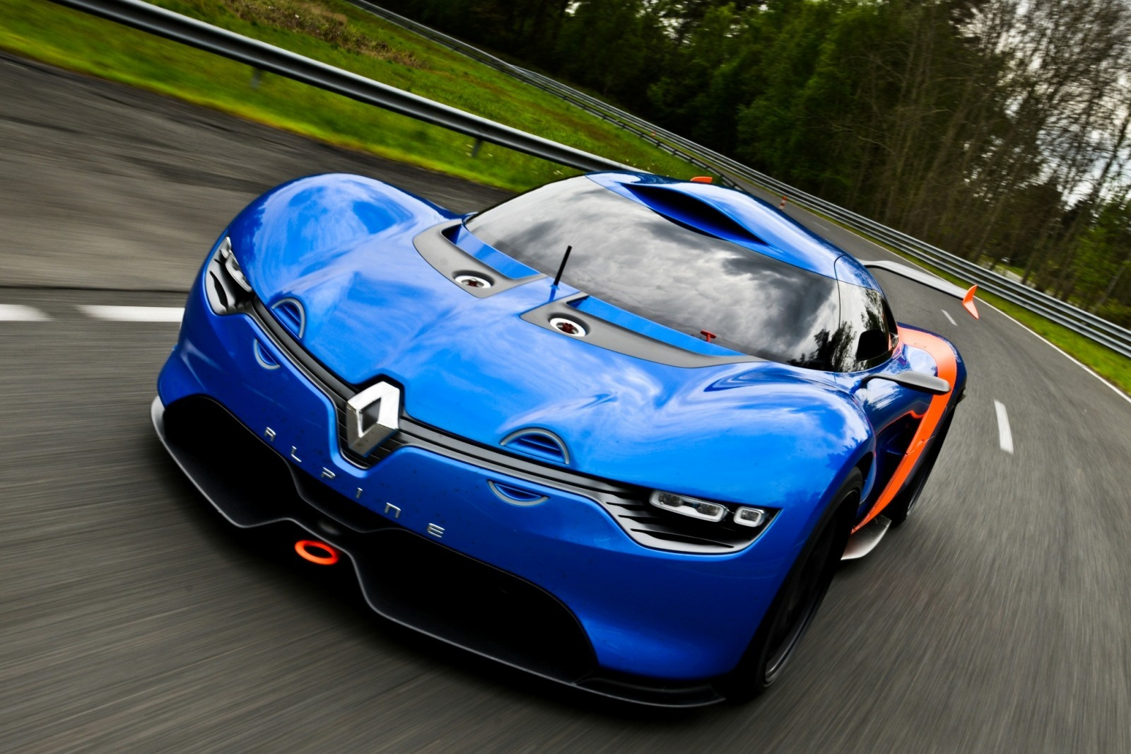 Concept Flashback - 2012 Renault Alpine A110-50 A Blend of M64 and A110 Berlinette 55