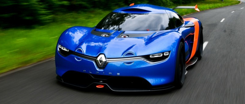 Concept Flashback - 2012 Renault Alpine A110-50 A Blend of M64 and A110 Berlinette 56