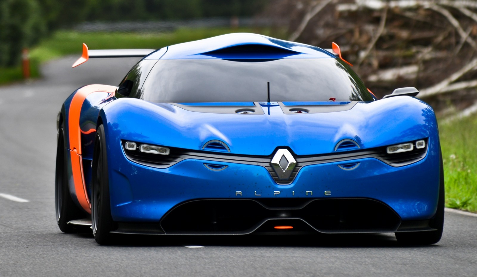 Concept Flashback - 2012 Renault Alpine A110-50 A Blend of M64 and A110 Berlinette 57