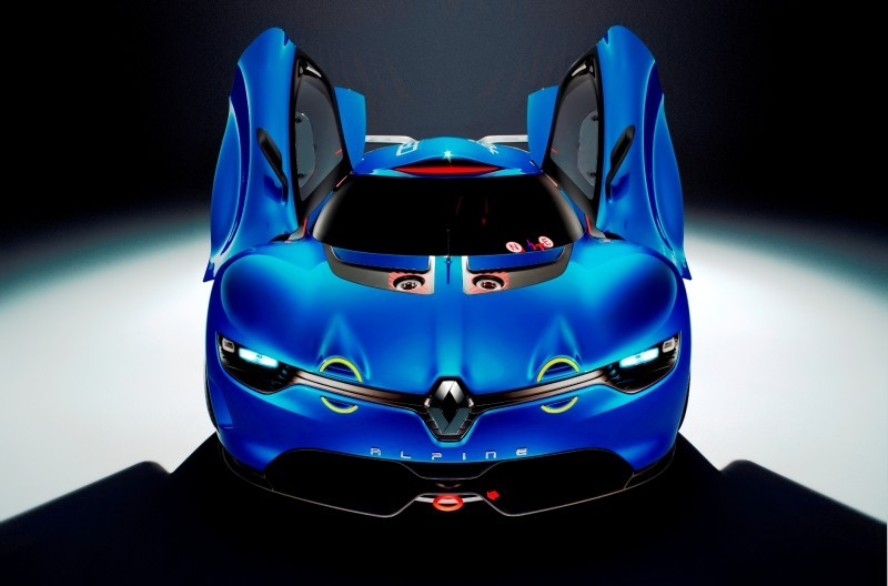 Concept Flashback - 2012 Renault Alpine A110-50 A Blend of M64 and A110 Berlinette 59