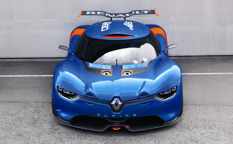 Concept Flashback - 2012 Renault Alpine A110-50 A Blend of M64 and A110 Berlinette 79