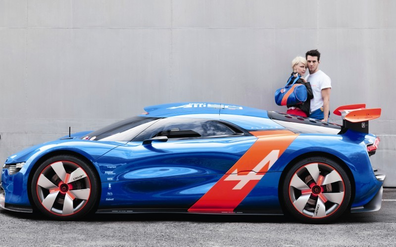 Concept Flashback - 2012 Renault Alpine A110-50 A Blend of M64 and A110 Berlinette 80