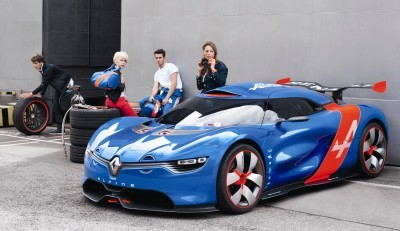 Concept Flashback - 2012 Renault Alpine A110-50 A Blend of M64 and A110 Berlinette 81