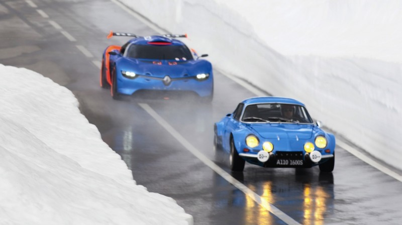 Concept Flashback - 2012 Renault Alpine A110-50 A Blend of M64 and A110 Berlinette 85