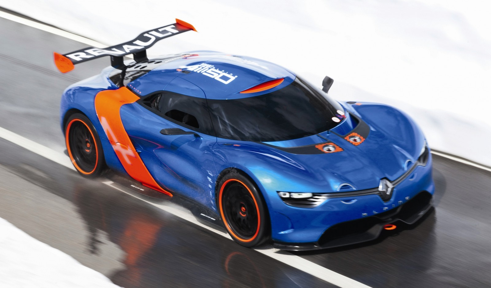 Concept Flashback - 2012 Renault Alpine A110-50 A Blend of M64 and A110 Berlinette 87