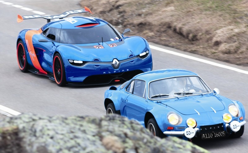 Concept Flashback - 2012 Renault Alpine A110-50 A Blend of M64 and A110 Berlinette 91