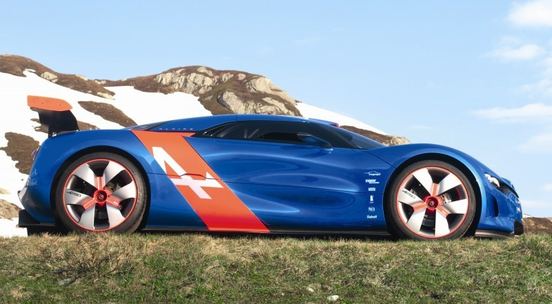 Concept Flashback - 2012 Renault Alpine A110-50 A Blend of M64 and A110 Berlinette 92