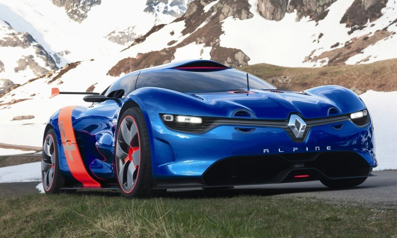 Concept Flashback - 2012 Renault Alpine A110-50 A Blend of M64 and A110 Berlinette 95