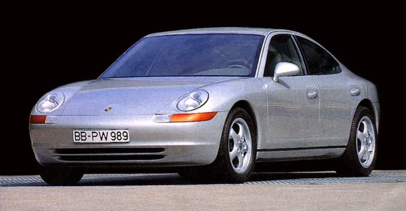 Creating The Porsche Sedan - 1988 Porsche 989 Panamera, 1991 Porsche 932, 1987 928 Studie and 1968 911 4-Door 10