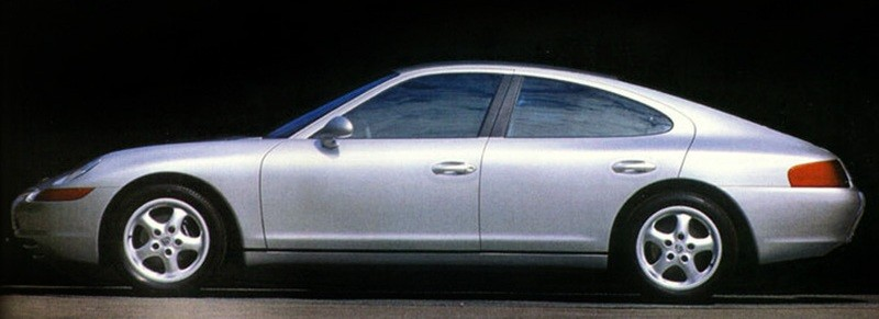 Creating The Porsche Sedan - 1988 Porsche 989 Panamera, 1991 Porsche 932, 1987 928 Studie and 1968 911 4-Door 11