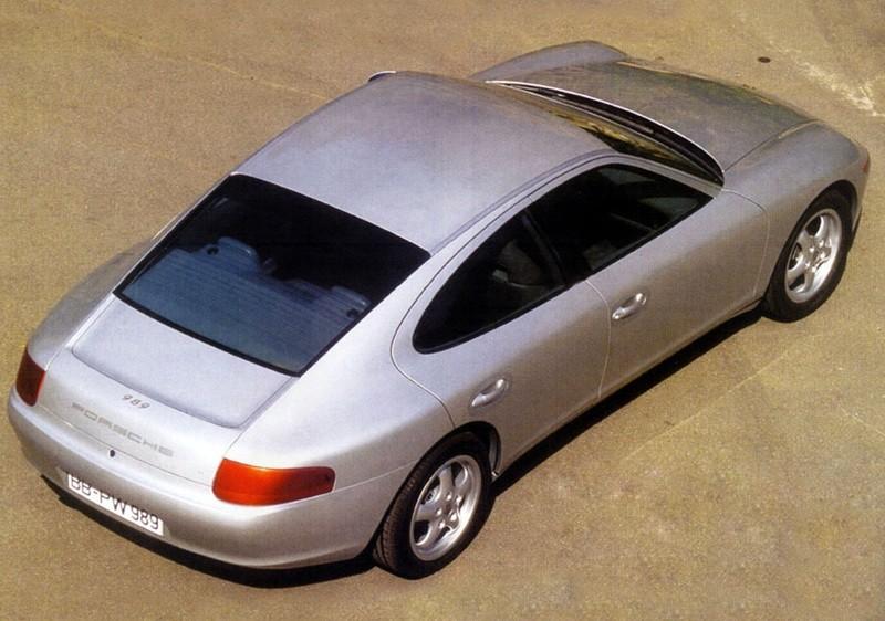 Creating The Porsche Sedan - 1988 Porsche 989 Panamera, 1991 Porsche 932, 1987 928 Studie and 1968 911 4-Door 12