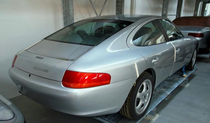 Creating The Porsche Sedan - 1988 Porsche 989 Panamera, 1991 Porsche 932, 1987 928 Studie and 1968 911 4-Door 15