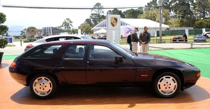 Creating The Porsche Sedan - 1988 Porsche 989 Panamera, 1991 Porsche 932, 1987 928 Studie and 1968 911 4-Door 4