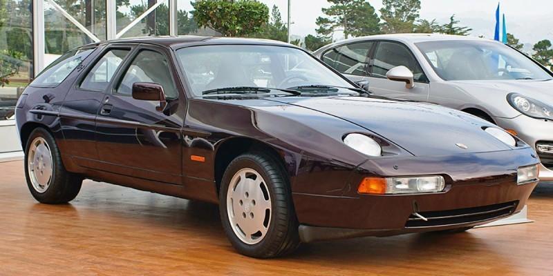 Creating The Porsche Sedan - 1988 Porsche 989 Panamera, 1991 Porsche 932, 1987 928 Studie and 1968 911 4-Door 5