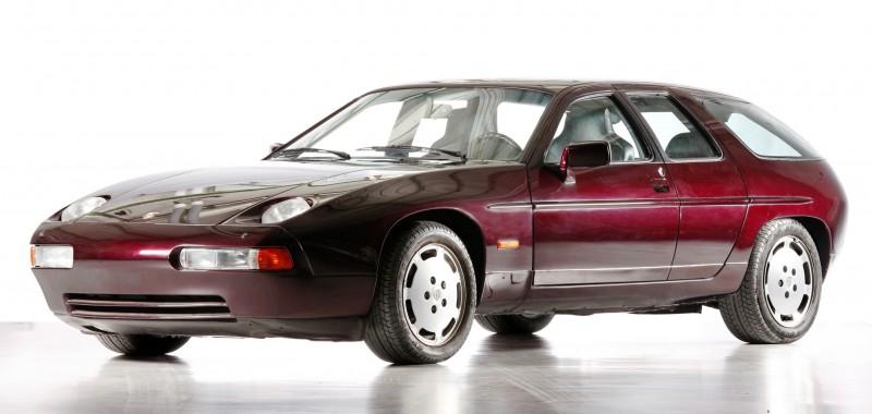 Creating The Porsche Sedan - 1988 Porsche 989 Panamera, 1991 Porsche 932, 1987 928 Studie and 1968 911 4-Door 8