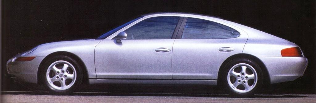 Creating The Porsche Sedan - 1988 Porsche 989 Panamera, 1991 Porsche
