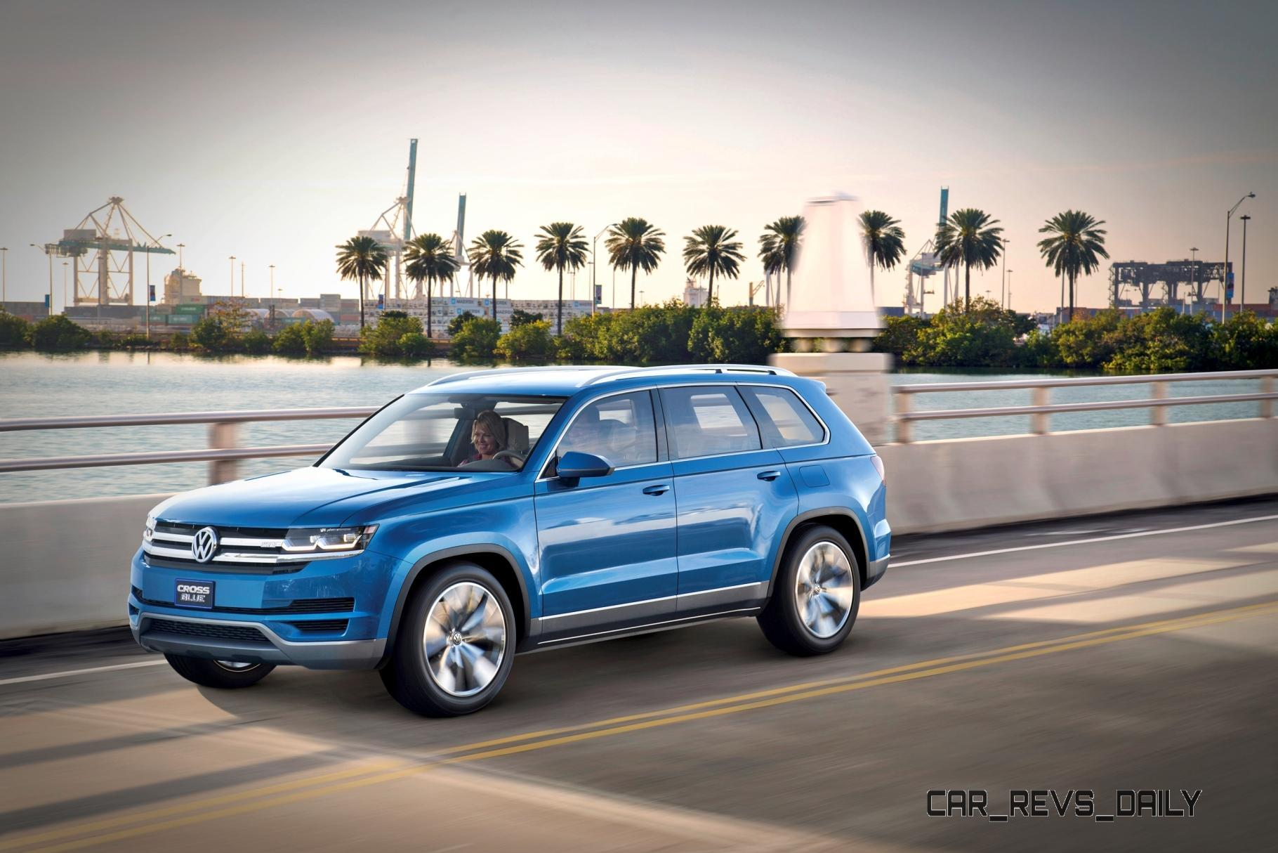Official: Volkswagen Mid-size SUV Will Seat 7, Be Built in ...