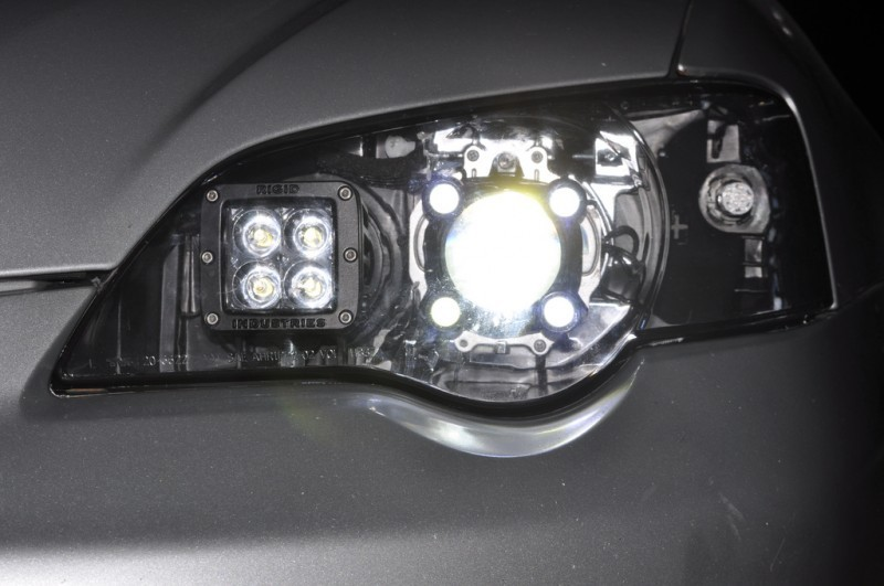 Diy Car Mods Rigid Industries Dually Led High Beams Are
