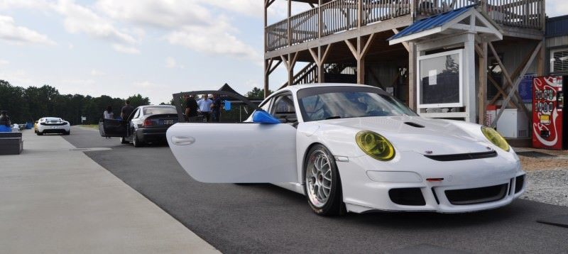 DIY Porsche 997 Supercup at Atlanta Motorsports Park is Track Boxer Knockout  17