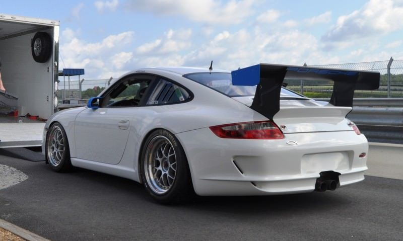 DIY Porsche 997 Supercup at Atlanta Motorsports Park is Track Boxer Knockout  36