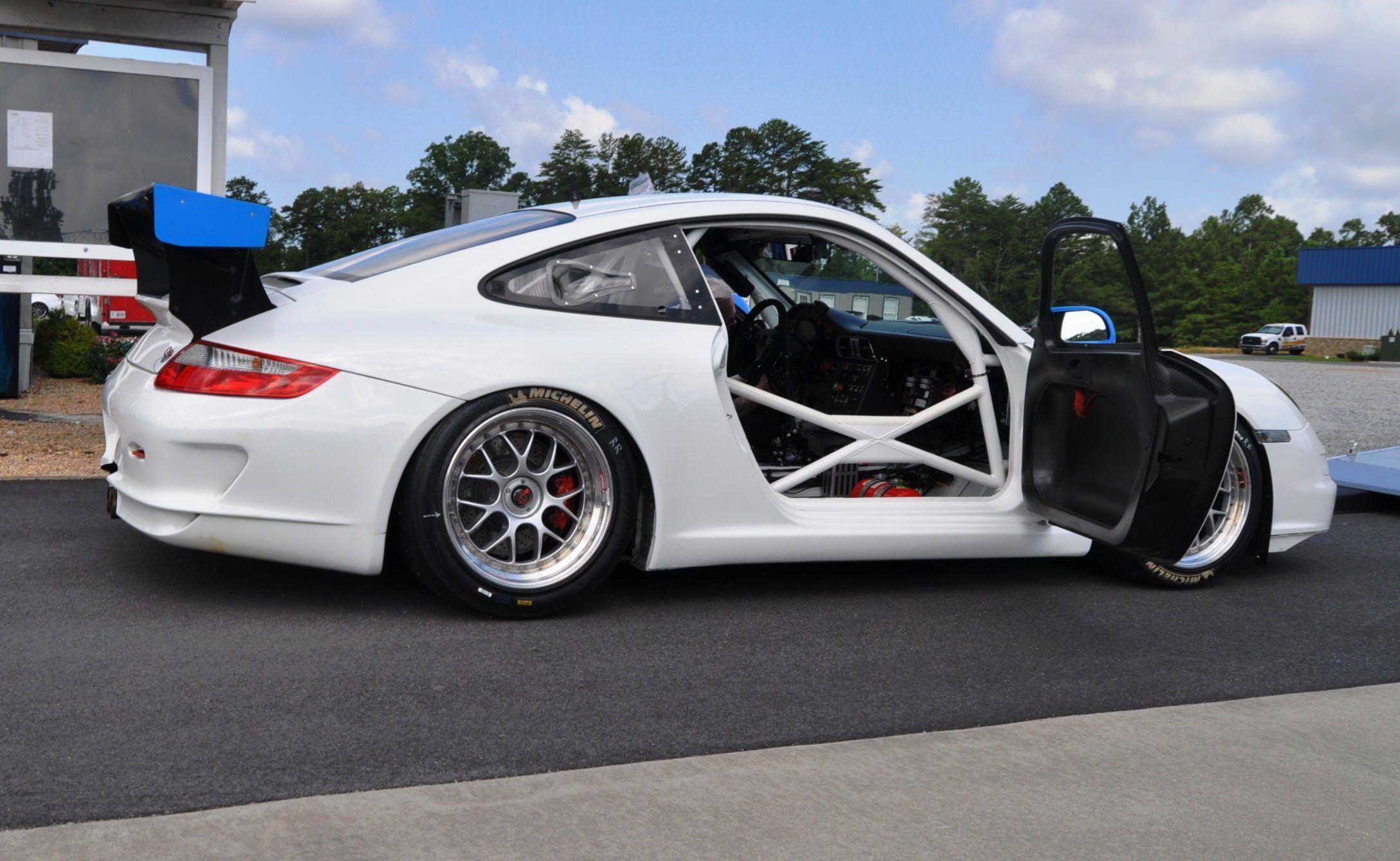DIY Porsche 997 Supercup at Atlanta Motorsports Park is Track Boxer Knockout  4