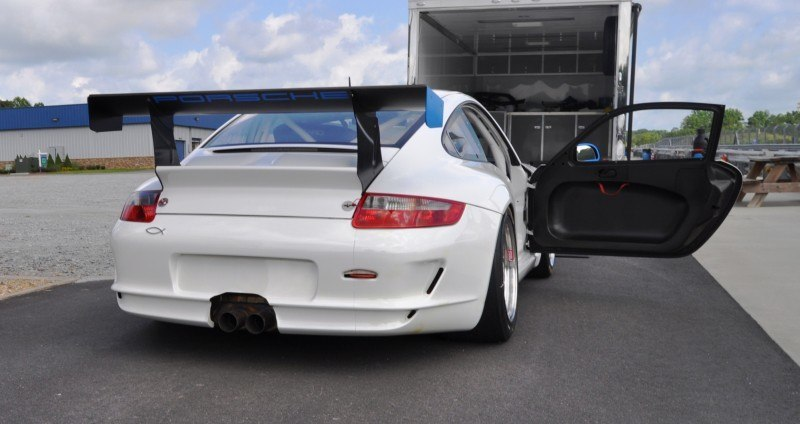DIY Porsche 997 Supercup at Atlanta Motorsports Park is Track Boxer Knockout  43