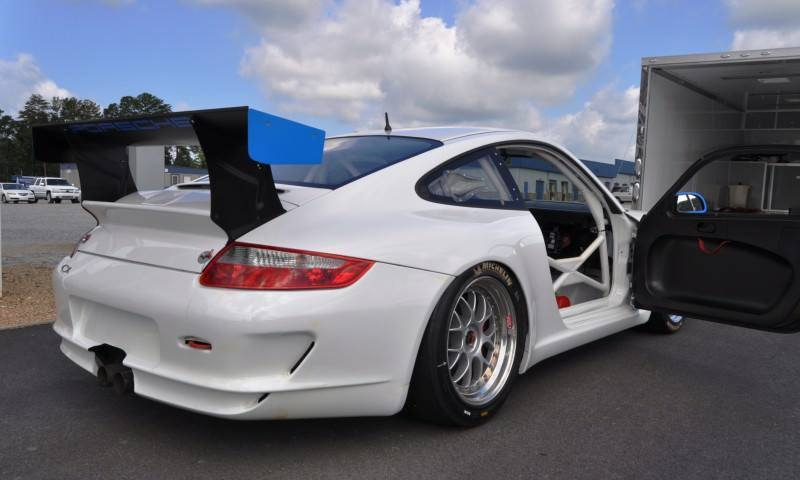 DIY Porsche 997 Supercup at Atlanta Motorsports Park is Track Boxer Knockout  45
