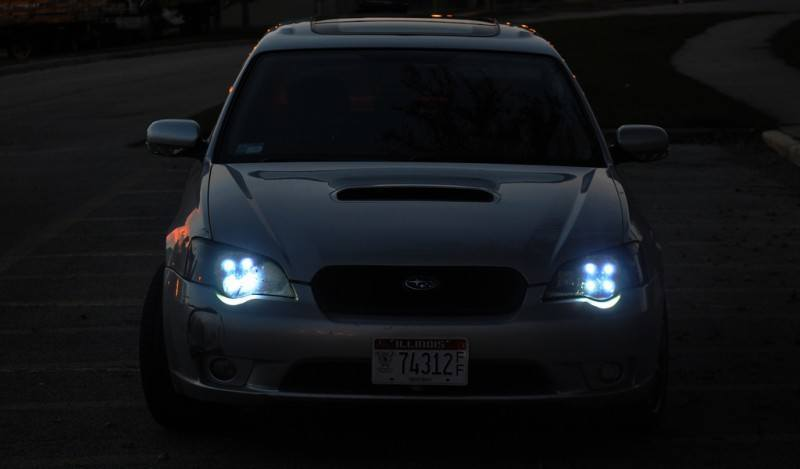 DRL - Subaru Legacy GT DIY LED Headlights v80 -_8194778924_l