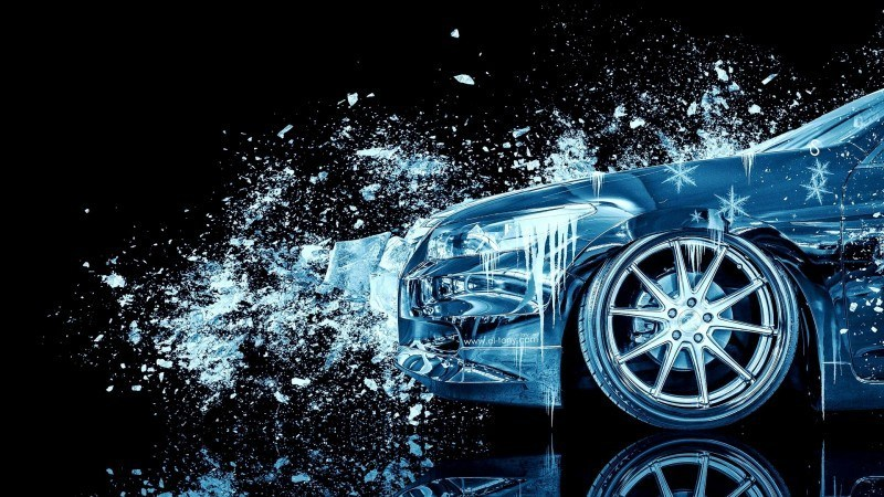 Design Talent Showcase - El-Tony.com Brings Sensual Elements Fire and Water to YOUR Car Wallpapers 10