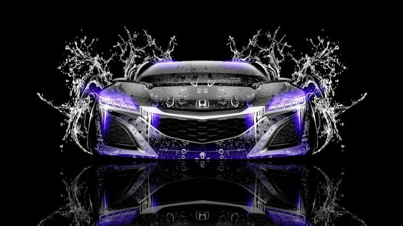 Design Talent Showcase - El-Tony.com Brings Sensual Elements Fire and Water to YOUR Car Wallpapers 12