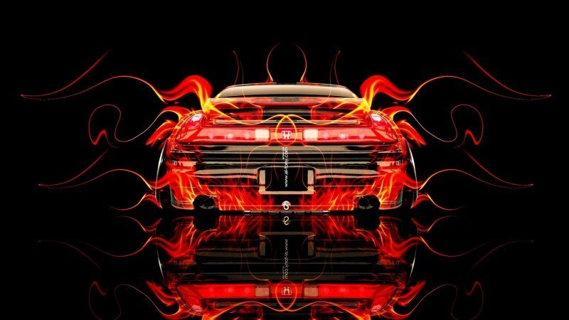 Design Talent Showcase - El-Tony.com Brings Sensual Elements Fire and Water to YOUR Car Wallpapers 13