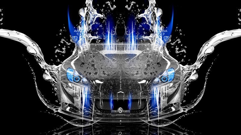 Design Talent Showcase - El-Tony.com Brings Sensual Elements Fire and Water to YOUR Car Wallpapers 15