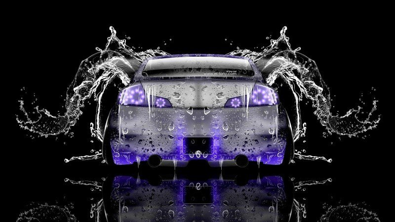Design Talent Showcase - El-Tony.com Brings Sensual Elements Fire and Water to YOUR Car Wallpapers 16