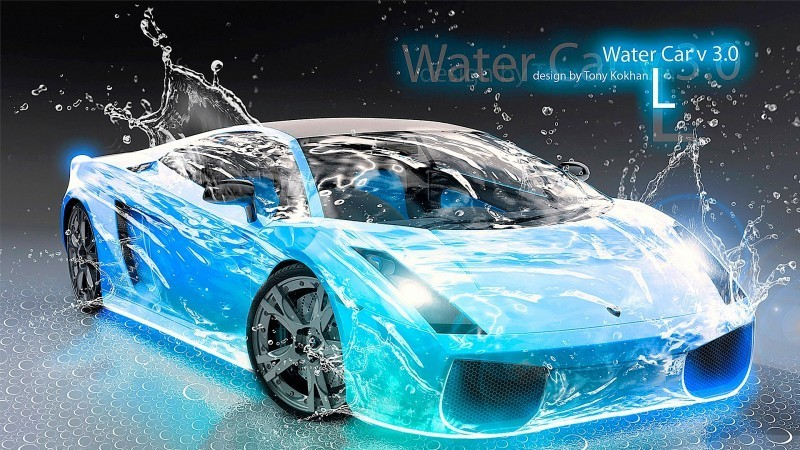 Design Talent Showcase - El-Tony.com Brings Sensual Elements Fire and Water to YOUR Car Wallpapers 23