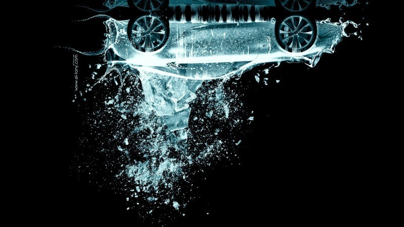 Design Talent Showcase - El-Tony.com Brings Sensual Elements Fire and Water to YOUR Car Wallpapers 25