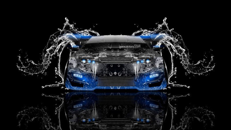 Design Talent Showcase - El-Tony.com Brings Sensual Elements Fire and Water to YOUR Car Wallpapers 31